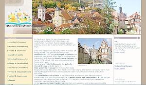 Internetseite der Stadt Marktbreit